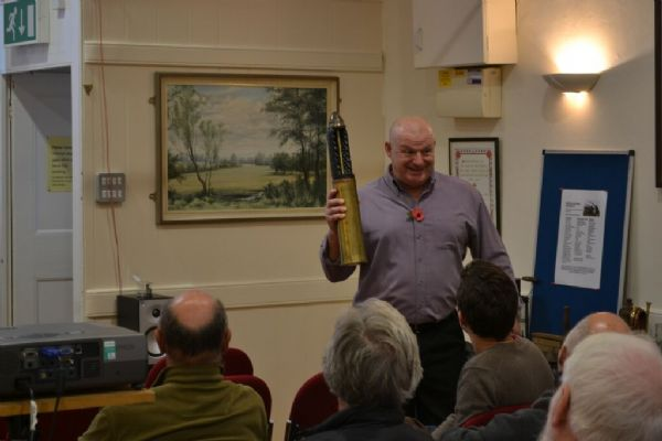 Dave Platt explains the workings of a WW1 shell