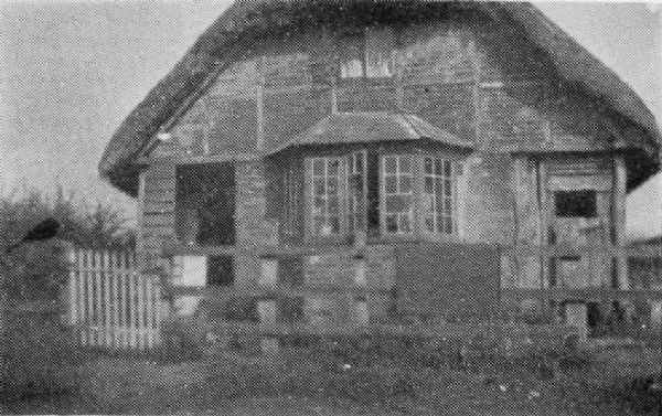 Moors Cottage at Bidden Water (now demolished)