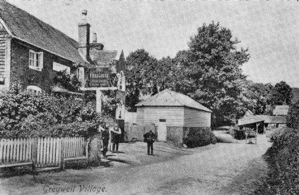 The Fox & Goose in the early 20th Century