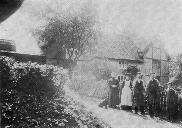 The Forge and residents circa 1911